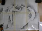"studio ""insieme"", grafite su carta, 1992"
