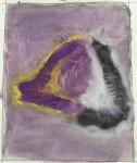 Luce - acquerello su cotone, 1985